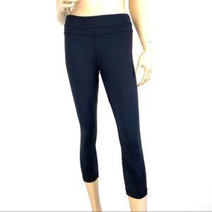 Lululemon Athletica Black Capri Pants 8